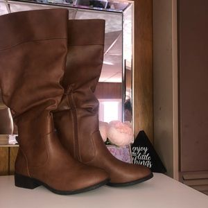 Brown Riding Boots 8W